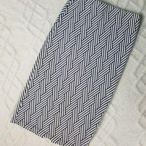 Zara Pencil skirt zig zag bodycon skirt chevron
